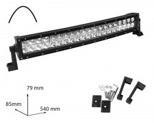 LED БАР фар 120W 21 инча комбиниран извит