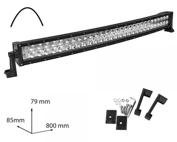 LED БАР фар 180W 32 инча комбиниран извит