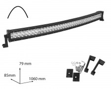 LED БАР фар 240W 42 инча комбиниран извит