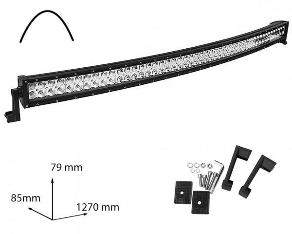 LED БАР фар 288W 50 инча комбиниран извит
