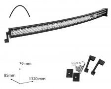 LED БАР фар 300W 52 инча комбиниран извит