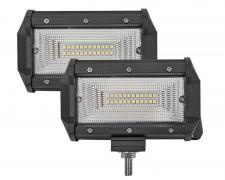 Работни LED фарове със стойка 24W bar 5 инча РАЗСЕЯН