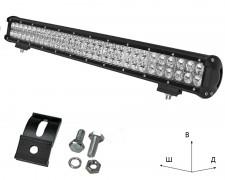 Работен LED фар със стойка 180W bar 28 инча комбиниран