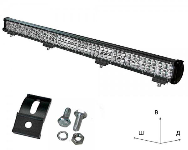 Работен LED фар със стойка 288W bar 44 инча комбиниран