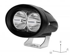 LED фар със стойка 20W малък насочен