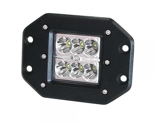 Работен фар за панел 6 LED 18W