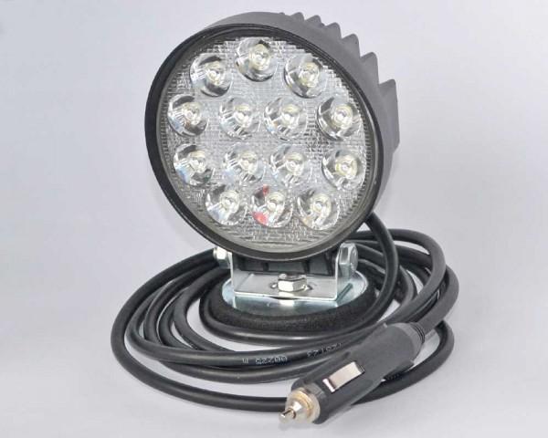 Работен подвижен LED фар с магнитна стойка