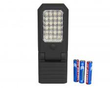 Сгъваема LED работна къмпинг лампа с 27 светодиода