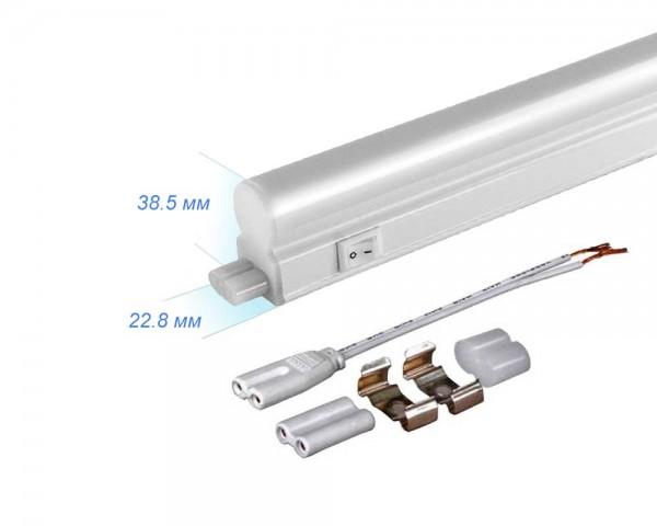 LED лампа с ключ T5 8W 220V 5000K