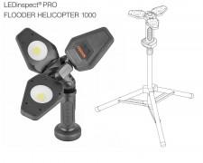 LED акумулаторна лампа с 3D светлина и стойка OSRAM Heli 1000