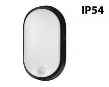 LED плафон овал PIR 14W 4200К