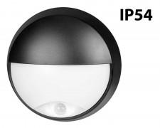LED плафон полукръг PIR 14W 4200К