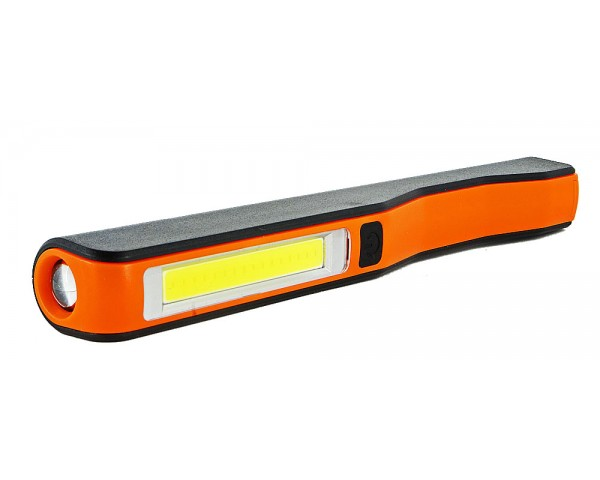 Акумулаторна COB LED работна лампа писалка