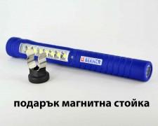 LED акумулаторна работна лампа фенер писалка BERNER