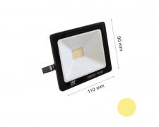 LED прожектор черен  10W 2700К