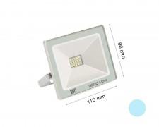 LED прожектор бял 10W 6000К