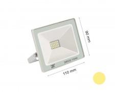 LED прожектор бял 10W 2700К