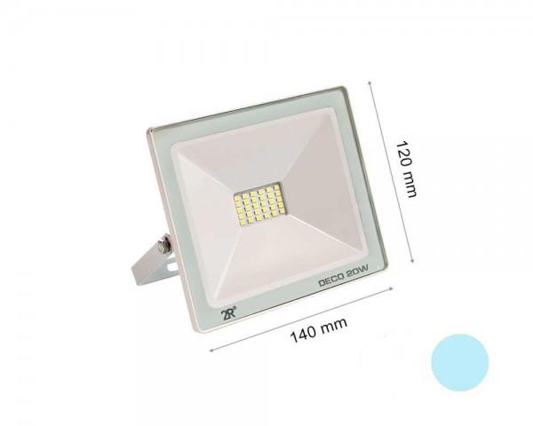 LED прожектор бял 20W 6000К