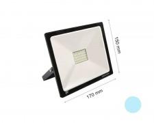 LED прожектор черен 30W 6000К