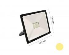 LED прожектор черен 30W 2700К