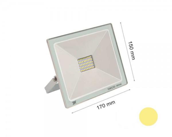 LED прожектор бял 30W 2700К