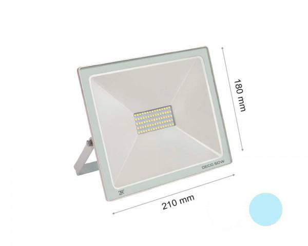 LED прожектор бял 50W 6000К
