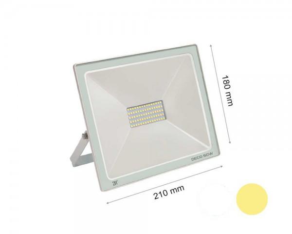 LED прожектор бял 50W 2700К