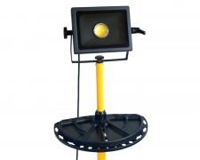 LED прожектор със стойка и плот за инструменти 30W 6000К